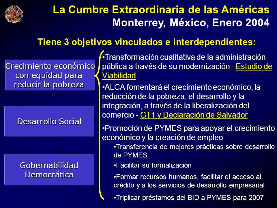 Tiene 3 objetivos vinculados e interdependientes: