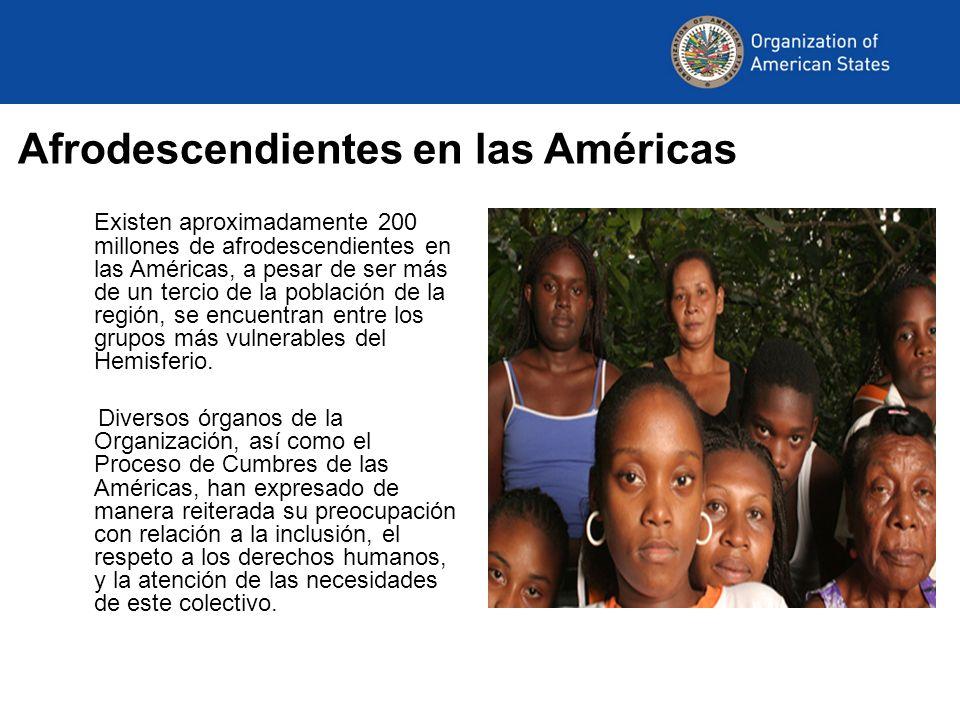 Afrodescendientes en las Américas