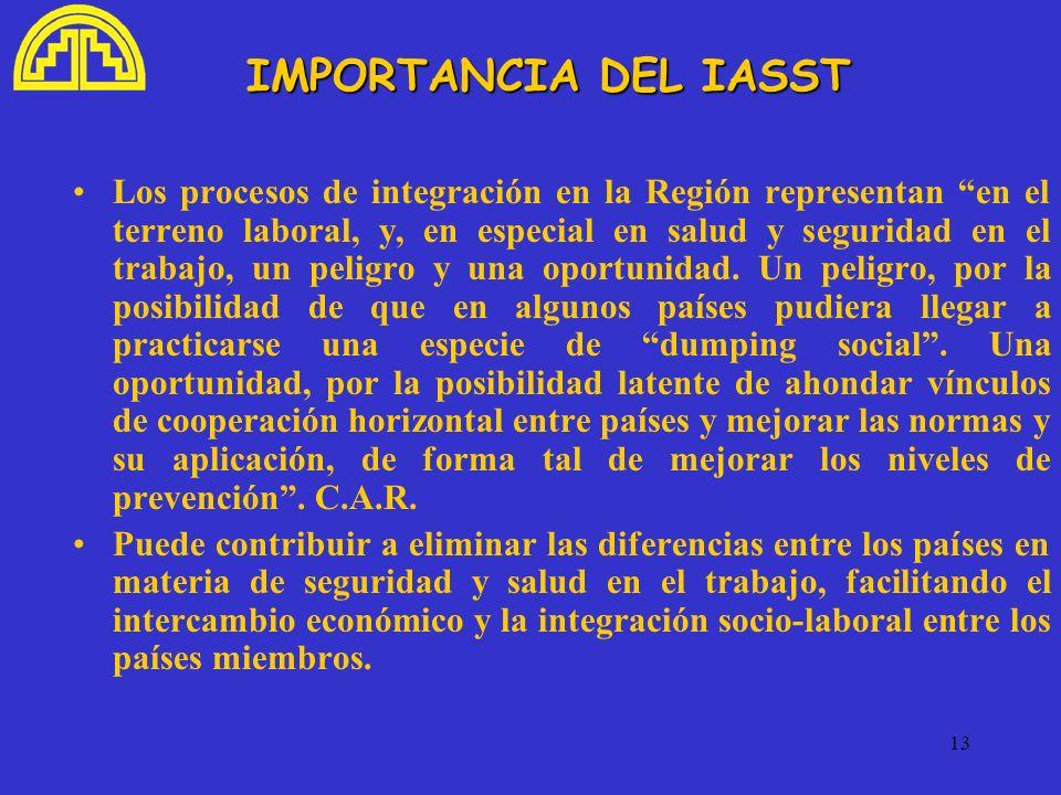 IMPORTANCIA DEL IASST