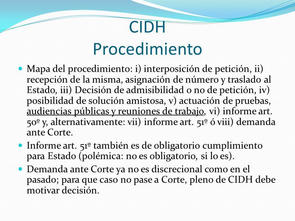 CIDH Procedimiento