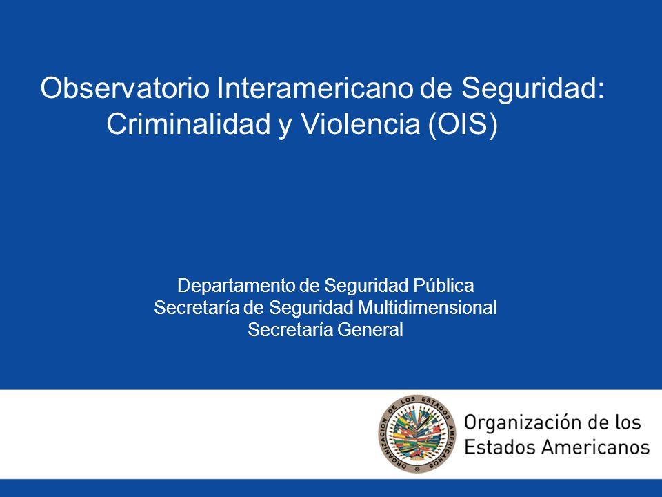 Observatorio Interamericano de Seguridad: