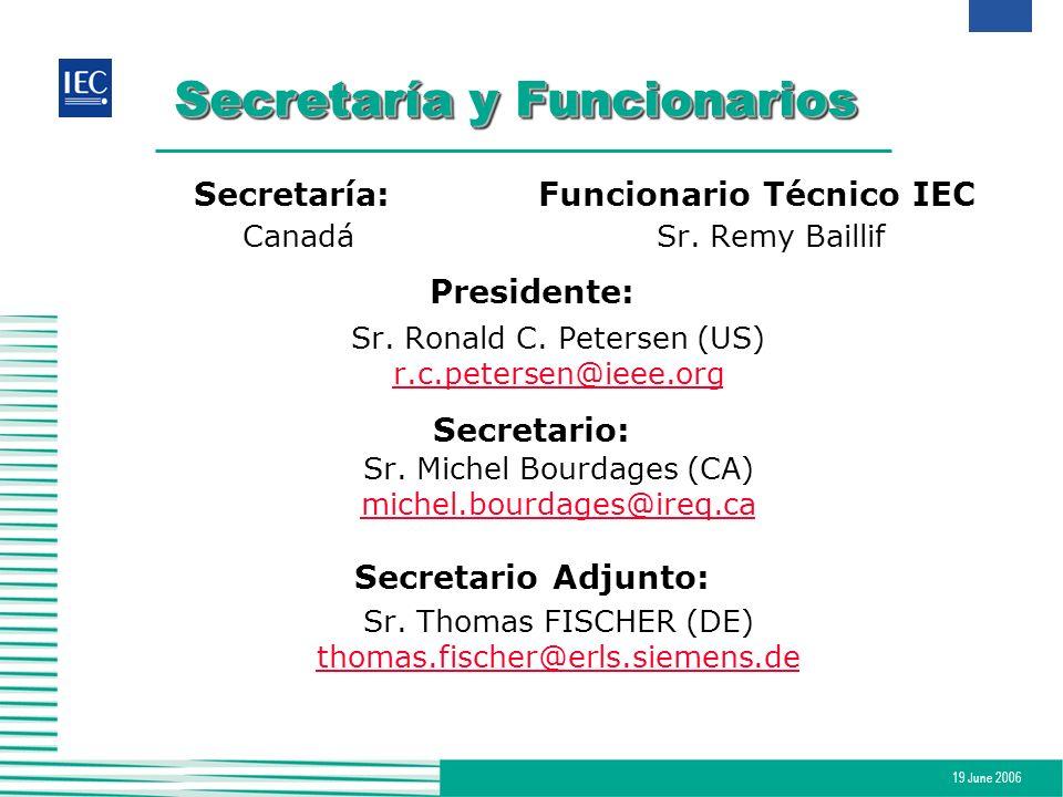 Secretaría y Funcionarios