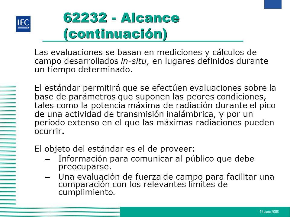62232 - Alcance (continuación)