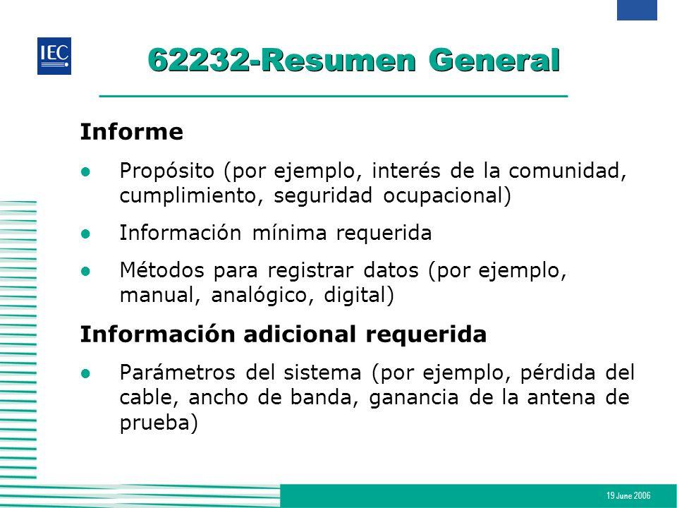 62232-Resumen General Informe Información adicional requerida