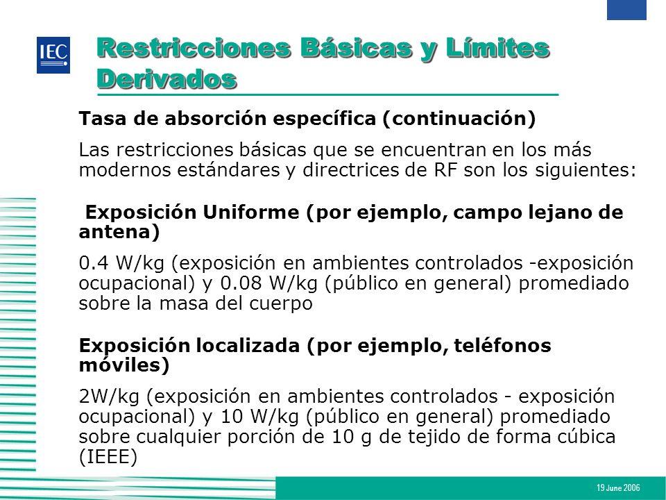 Restricciones Básicas y Límites Derivados