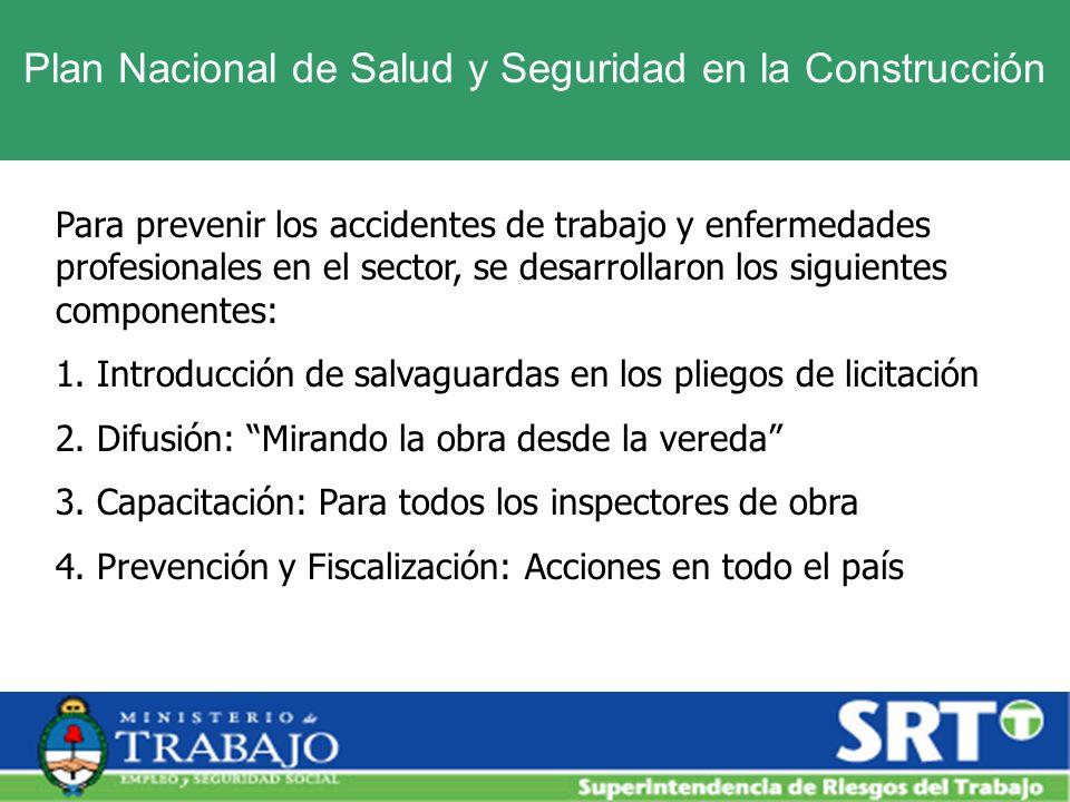 Plan Nacional de Salud y Seguridad en la Construcción