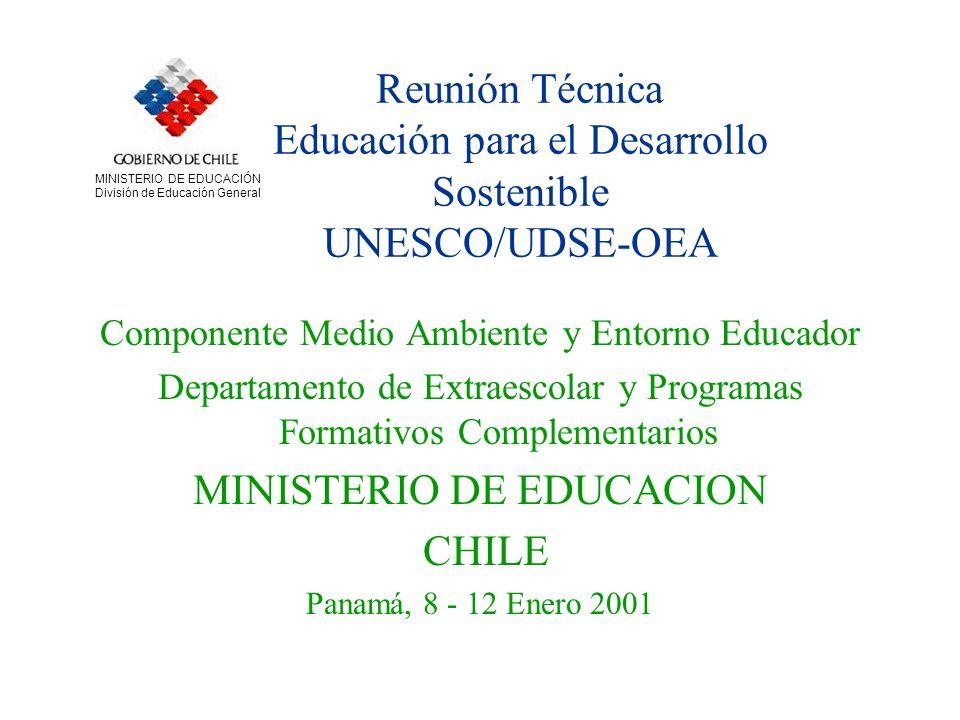 MINISTERIO DE EDUCACION CHILE