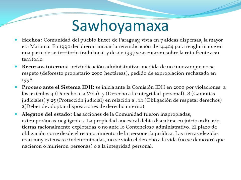 Sawhoyamaxa