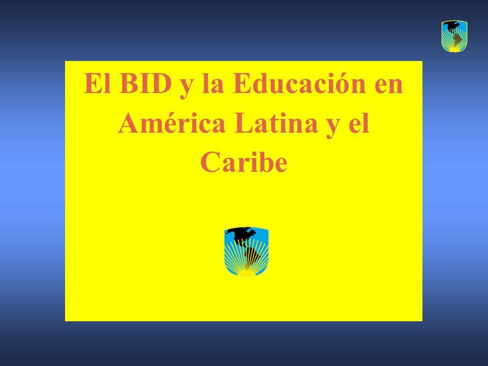 El BID y la Educación en América Latina y el Caribe