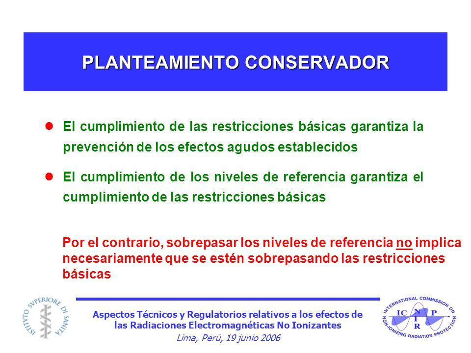 PLANTEAMIENTO CONSERVADOR