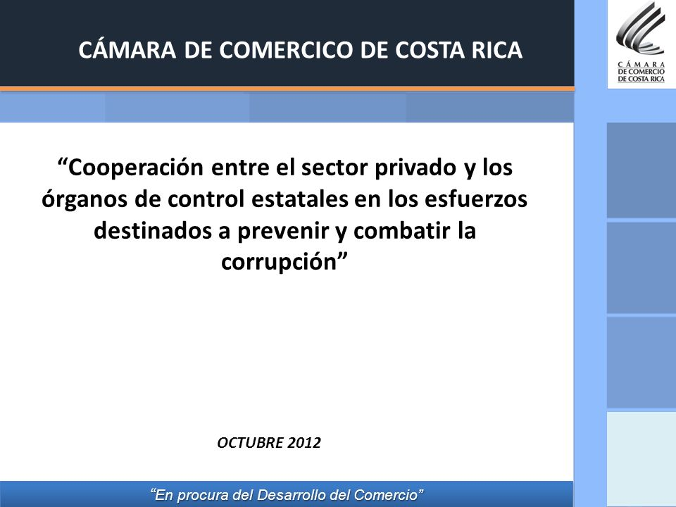 CÁMARA DE COMERCICO DE COSTA RICA