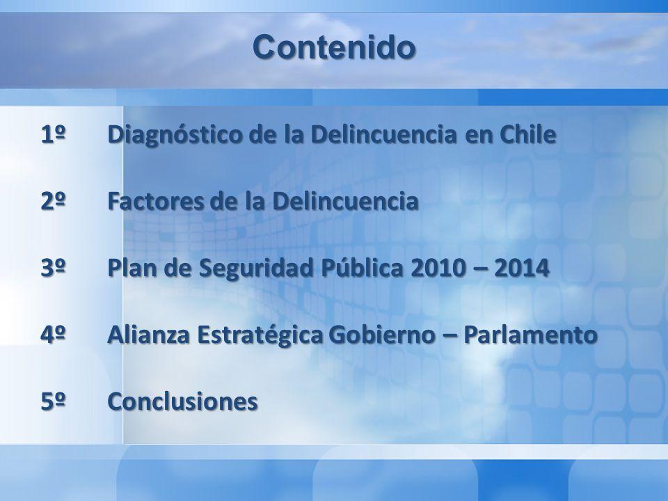 Contenido 1º Diagnóstico de la Delincuencia en Chile