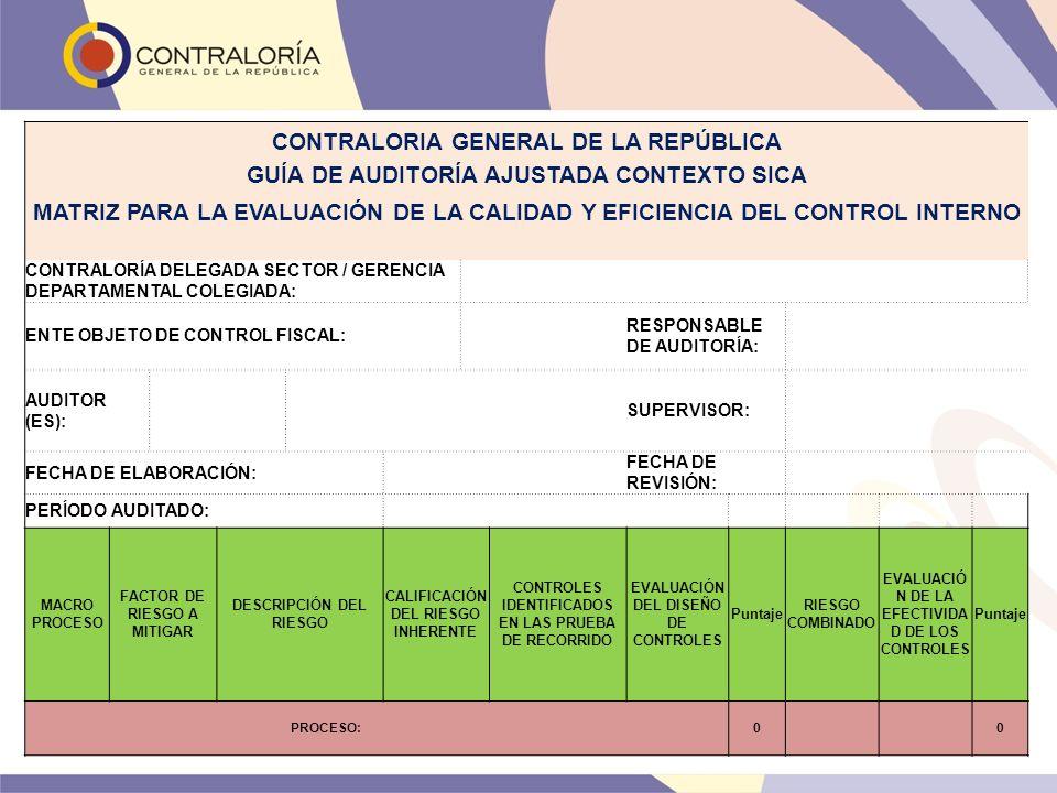 CONTRALORIA GENERAL DE LA REPÚBLICA