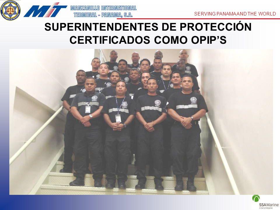 SUPERINTENDENTES DE PROTECCIÓN CERTIFICADOS COMO OPIP'S