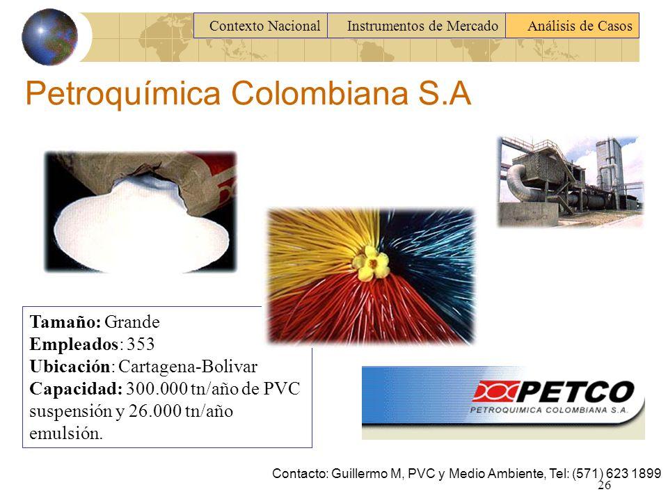Petroquímica Colombiana S.A