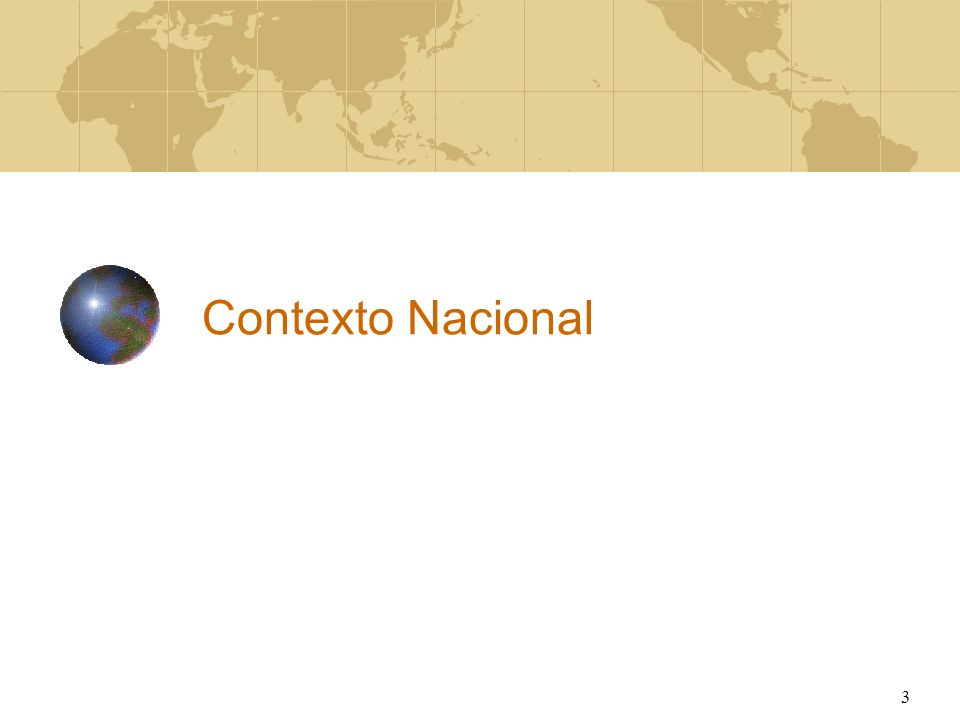 Contexto Nacional