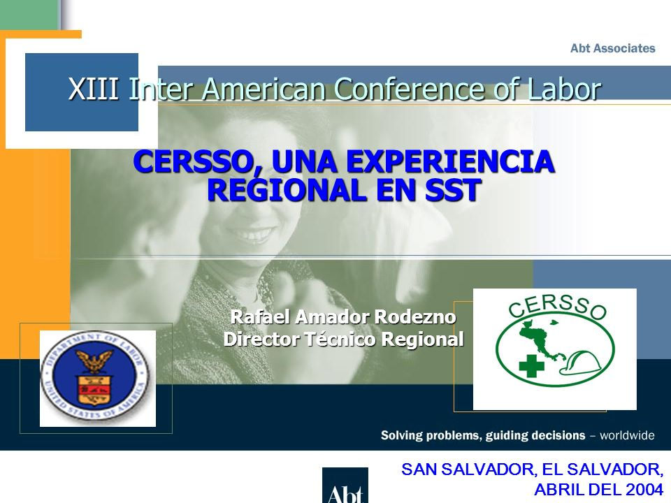 XIII Inter American Conference of Labor