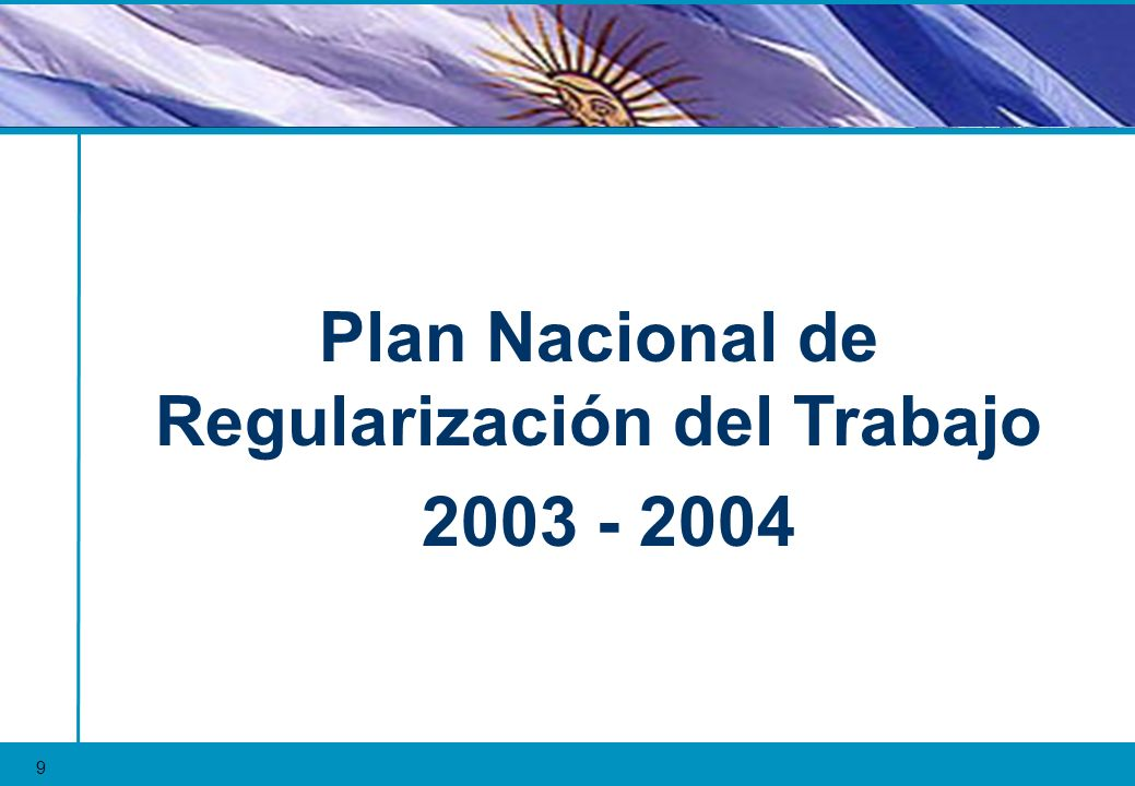 Plan Nacional de Regularización del Trabajo