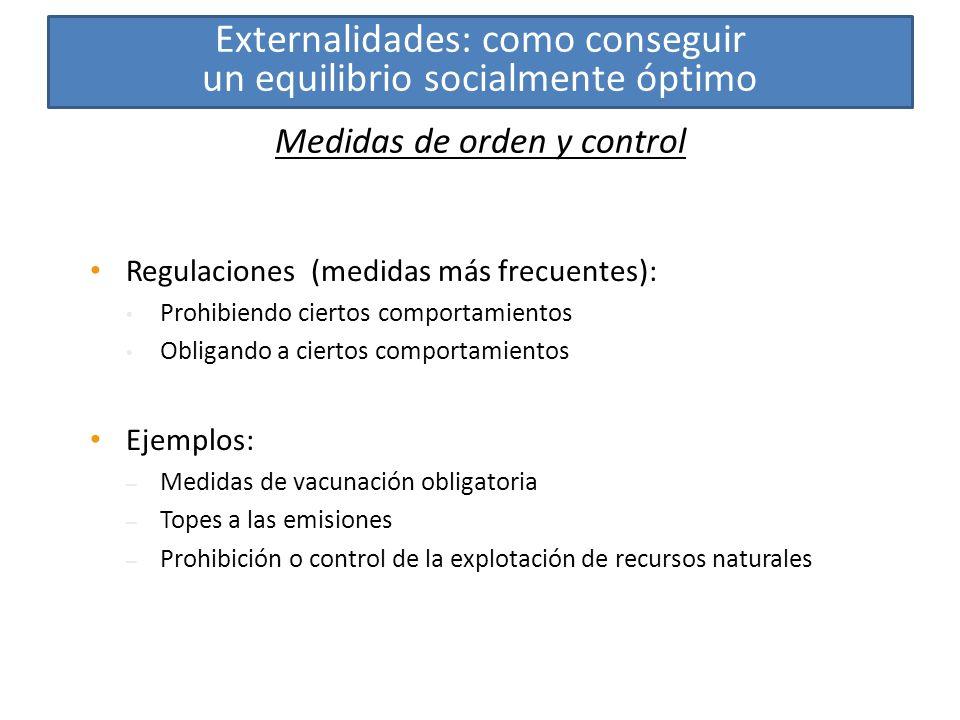 Medidas de orden y control