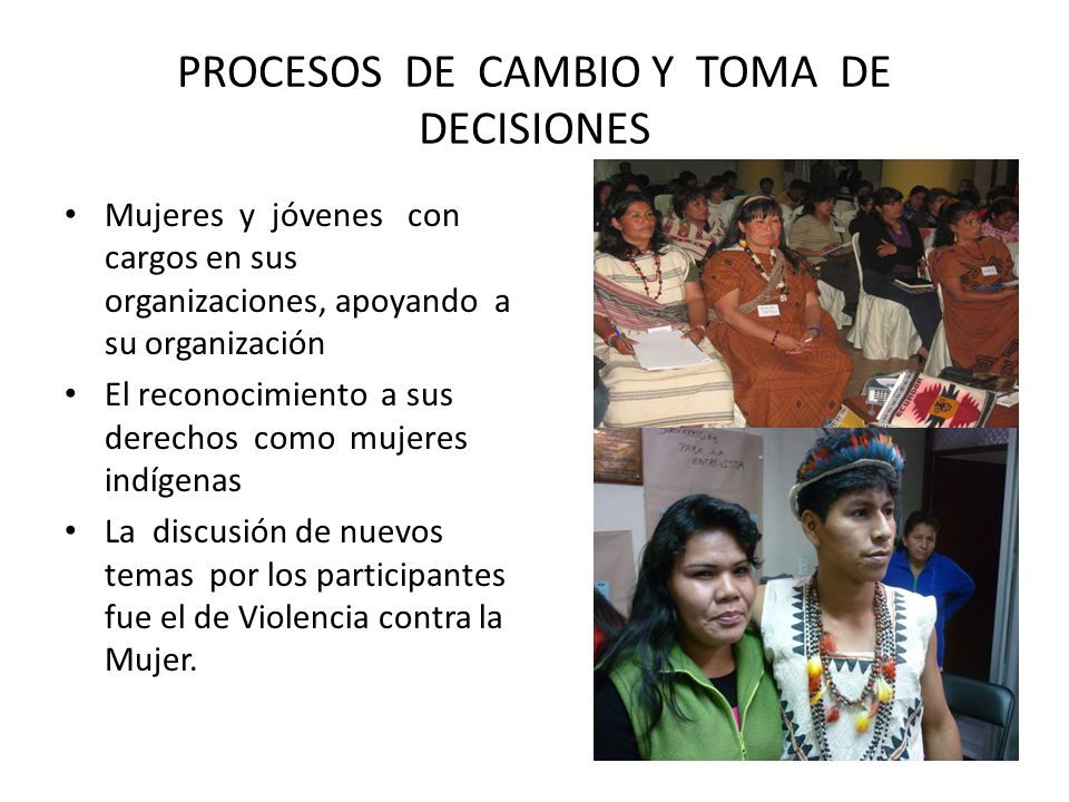 PROCESOS DE CAMBIO Y TOMA DE DECISIONES