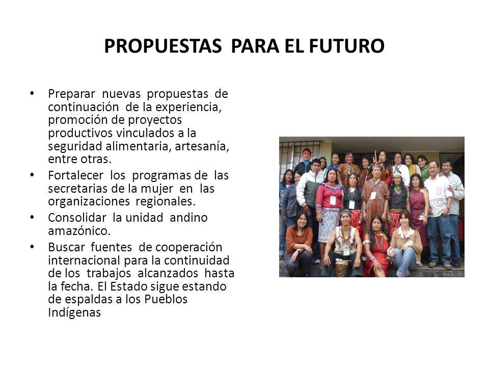 PROPUESTAS PARA EL FUTURO