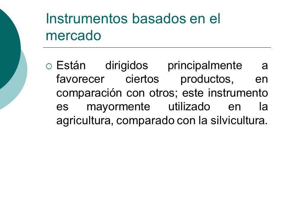 Instrumentos basados en el mercado