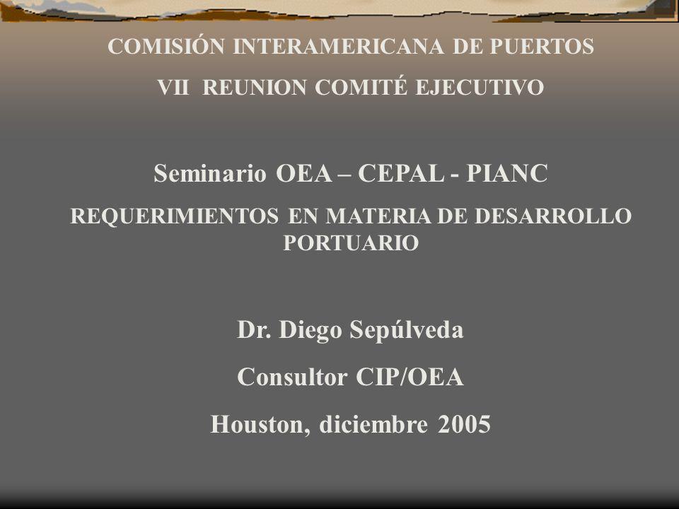 Seminario OEA – CEPAL - PIANC