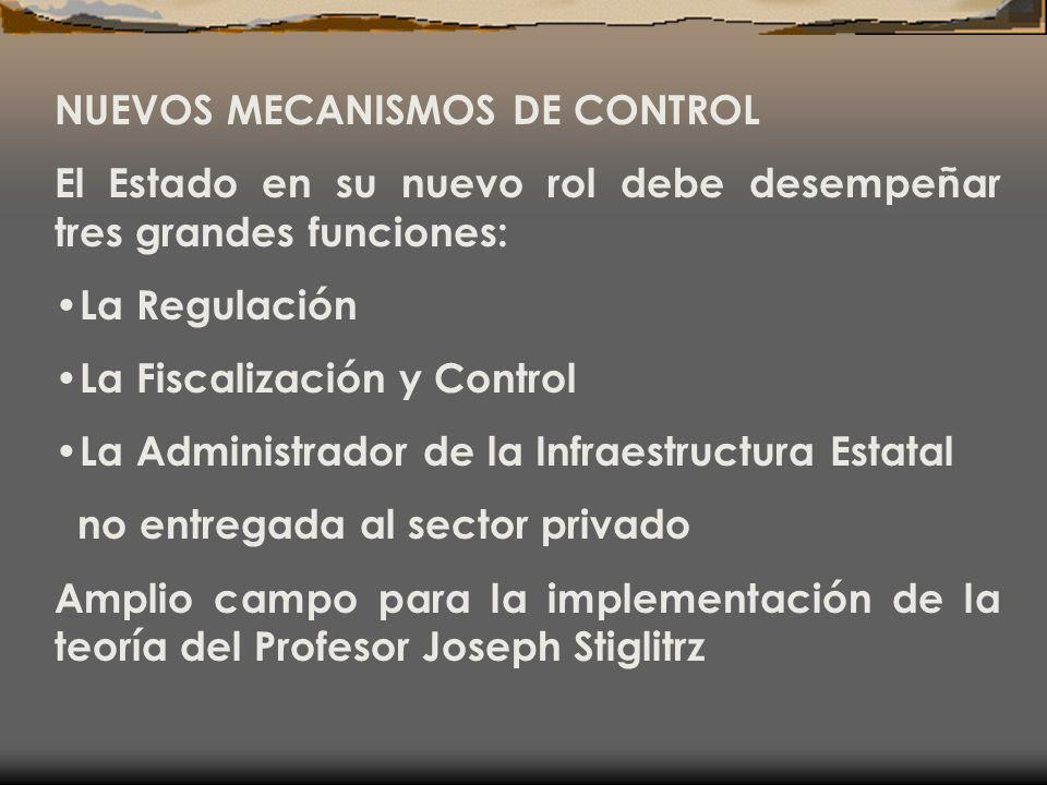 NUEVOS MECANISMOS DE CONTROL