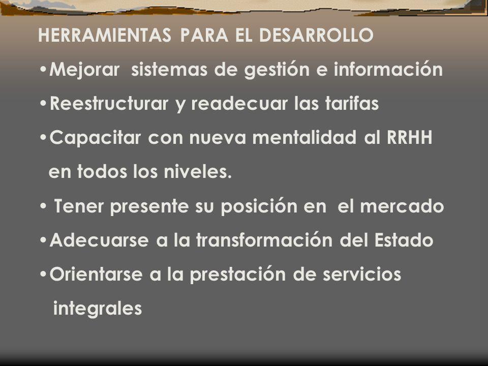 HERRAMIENTAS PARA EL DESARROLLO