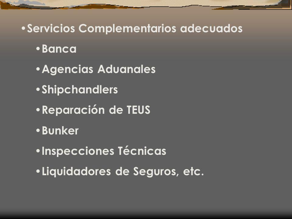 Servicios Complementarios adecuados