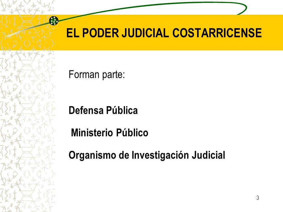 EL PODER JUDICIAL COSTARRICENSE