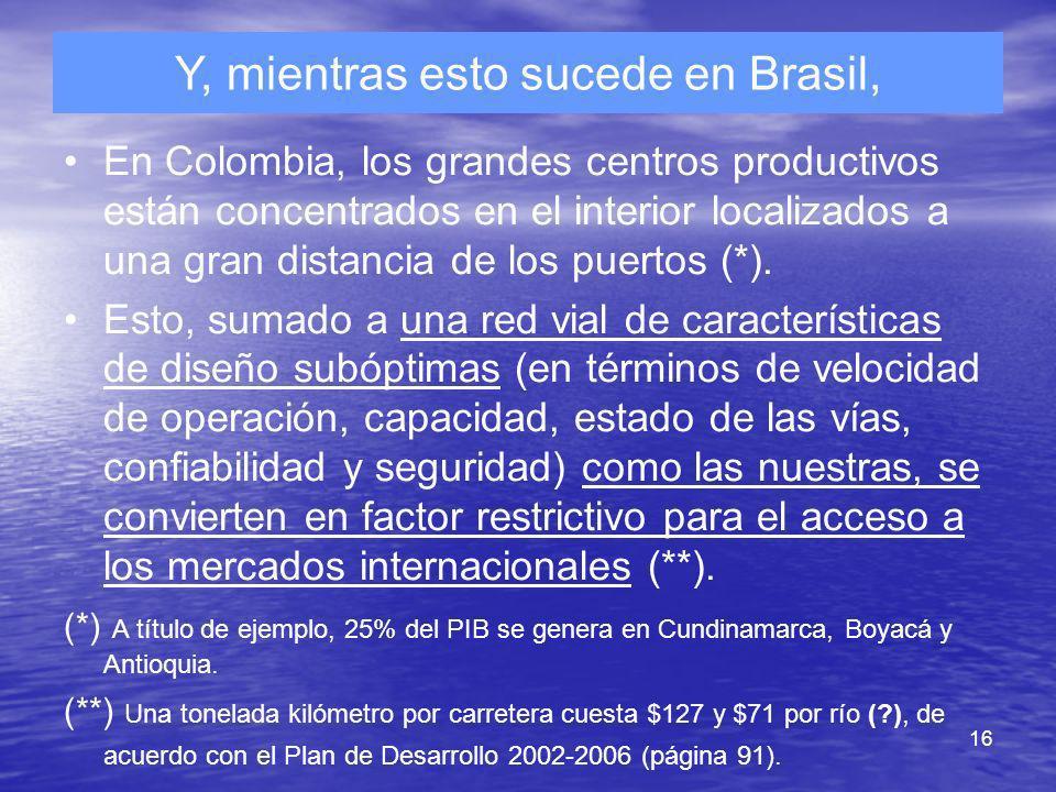 Y, mientras esto sucede en Brasil,