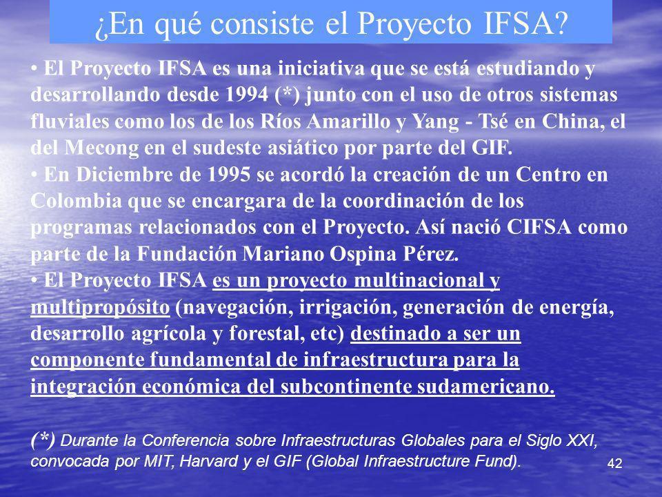 ¿En qué consiste el Proyecto IFSA
