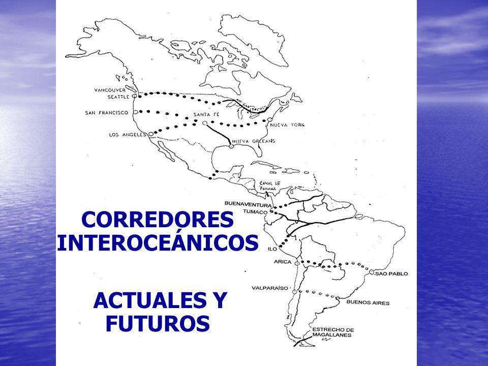 CORREDORES INTEROCEÁNICOS