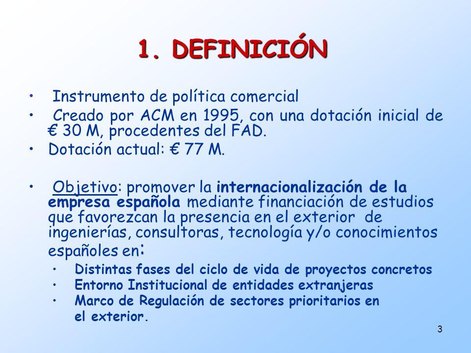 1. DEFINICIÓN Instrumento de política comercial