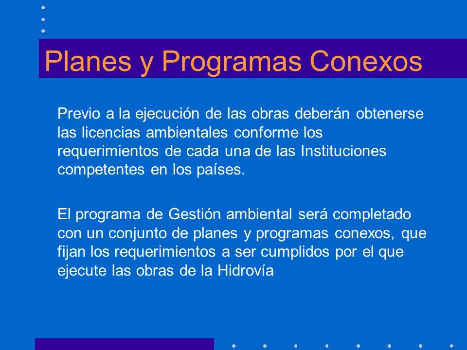 Planes y Programas Conexos
