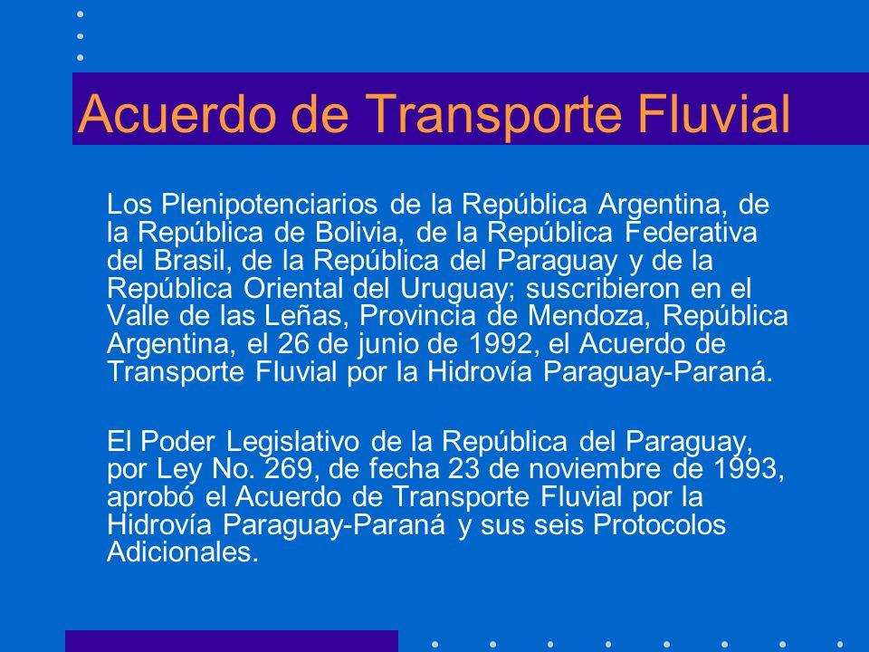 Acuerdo de Transporte Fluvial