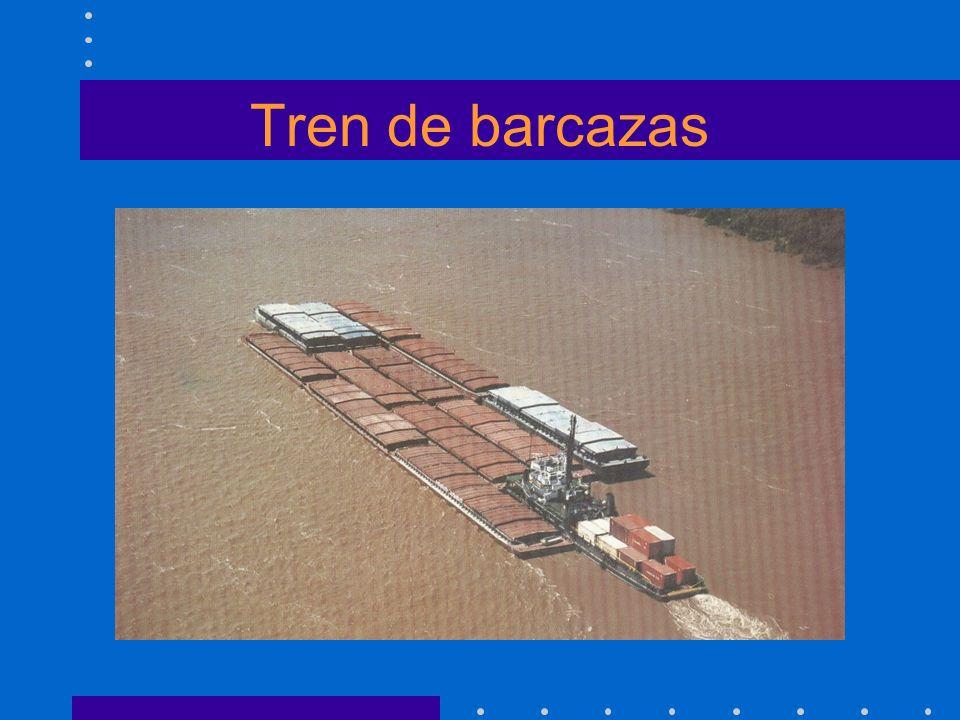 Tren de barcazas