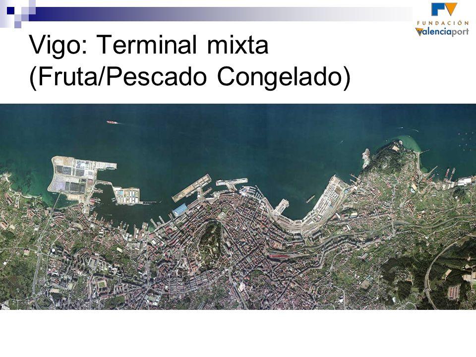 Vigo: Terminal mixta (Fruta/Pescado Congelado)