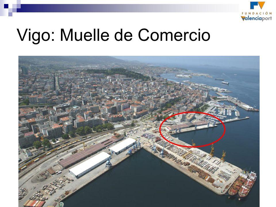 Vigo: Muelle de Comercio