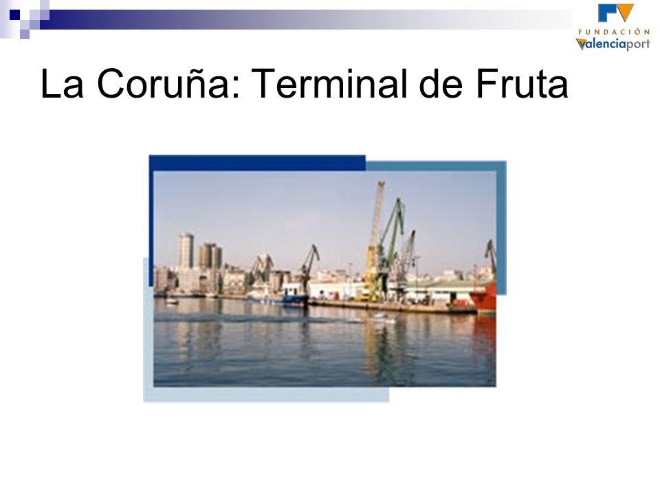 La Coruña: Terminal de Fruta
