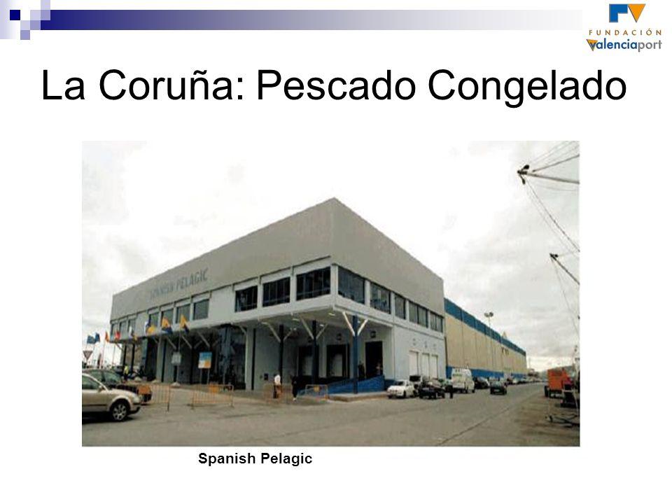 La Coruña: Pescado Congelado