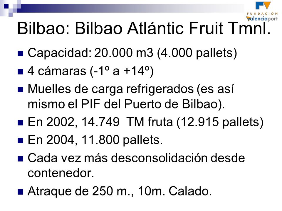 Bilbao: Bilbao Atlántic Fruit Tmnl.