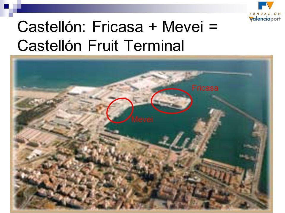 Castellón: Fricasa + Mevei = Castellón Fruit Terminal