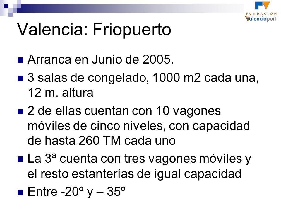 Valencia: Friopuerto Arranca en Junio de 2005.