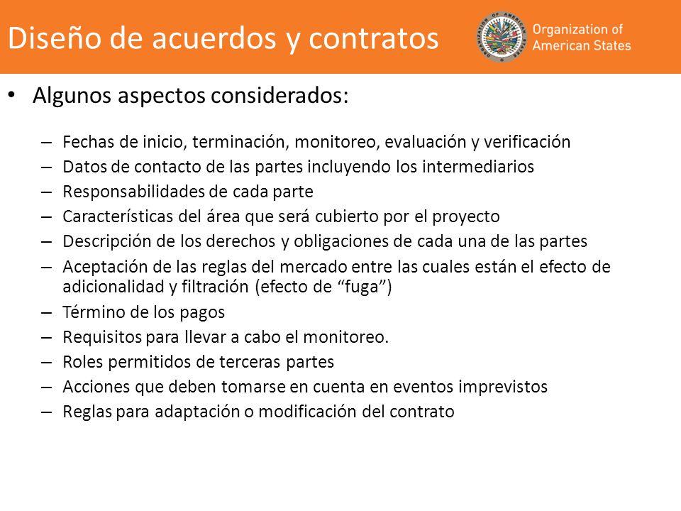 Diseño de acuerdos y contratos
