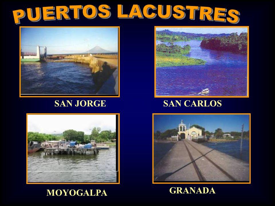 PUERTOS LACUSTRES SAN JORGE SAN CARLOS GRANADA MOYOGALPA
