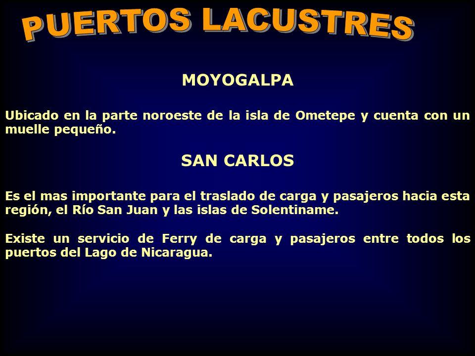 PUERTOS LACUSTRES SAN CARLOS MOYOGALPA