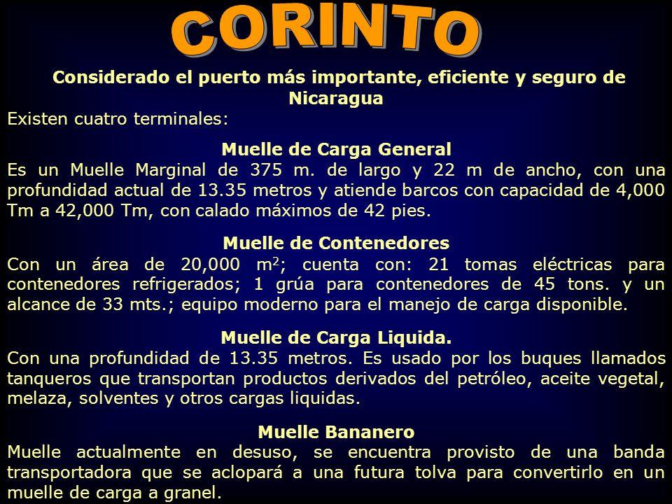Muelle de Carga Liquida.