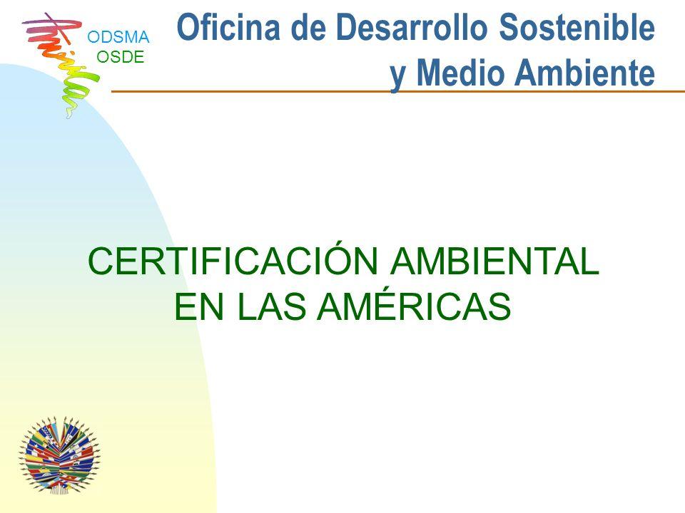 Oficina de Desarrollo Sostenible y Medio Ambiente